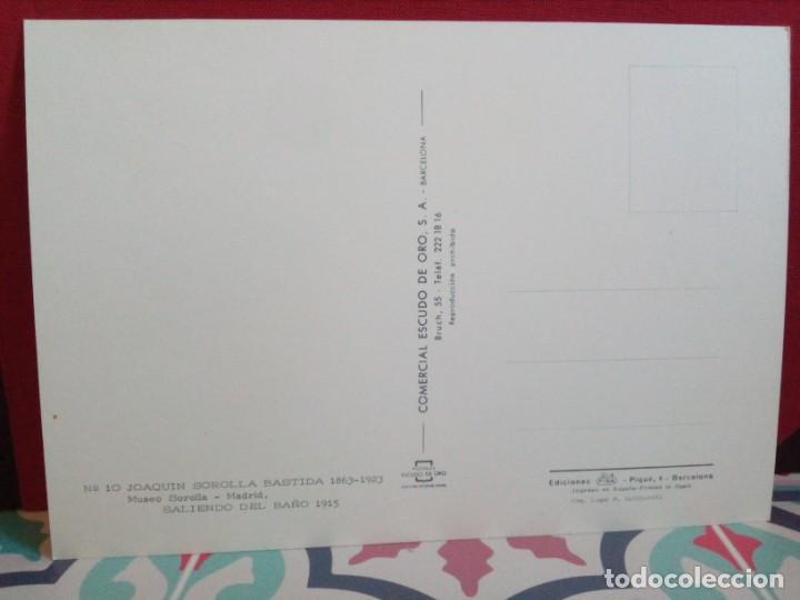 Postales: 20 POSTALES SOROLLA - CUADROS - ÓLEOS - (SIN CIRCULAR) REF: 81/101 - Foto 24 - 162096846