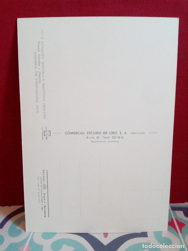 Postales: 20 POSTALES SOROLLA - CUADROS - ÓLEOS - (SIN CIRCULAR) REF: 81/101 - Foto 26 - 162096846
