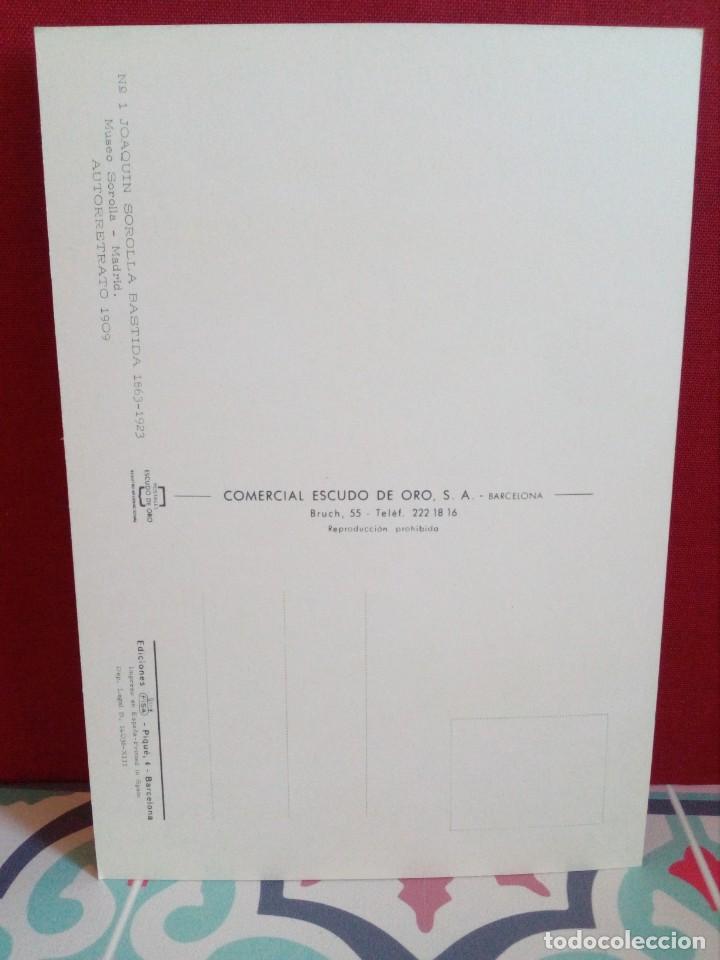 Postales: 20 POSTALES SOROLLA - CUADROS - ÓLEOS - (SIN CIRCULAR) REF: 81/101 - Foto 38 - 162096846