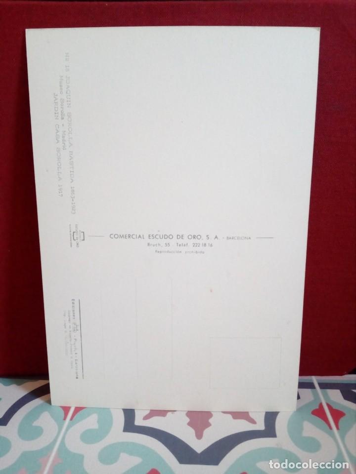 Postales: 20 POSTALES SOROLLA - CUADROS - ÓLEOS - (SIN CIRCULAR) REF: 81/101 - Foto 40 - 162096846