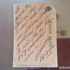Postales: TARJETA POSTAL DE 1922 PINTADA ÓLEO . Lote 162479434