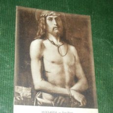 Postales: MONTAGNA. ECCE HOMO - LEVY FILS 40 LL MUSEE DU LOUVRE 1393. Lote 163618218