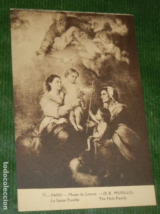MURILLO. LA SANTA FAMILIA - A.PAPEGHIN 13 (Postales - Postales Temáticas - Arte)