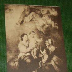 Postales: MURILLO. LA SANTA FAMILIA - A.PAPEGHIN 13. Lote 163618406