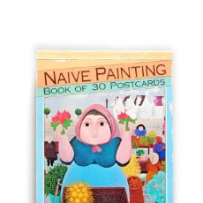 Postales: LIBRO DE 30 POSTALES DE ARTE NAIF (NAIVE) MAGNA BOOK, ENGLAND. AÑO 1993. PRINTED IN HOLLAND. Lote 165894346