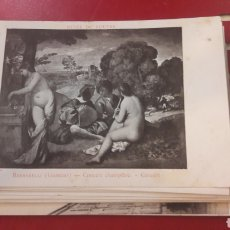 Postales: LOTE POSTALES MUSEO LOUVRE ARTE (27). Lote 166370448