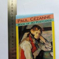 Postales: CARPETA 30 POSTALES - PAUL CEZANNE 1991 - ARTE. Lote 166543562