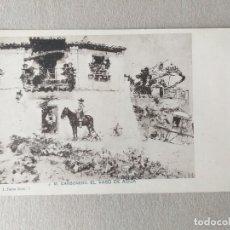 Postales: TARJETA POSTAL DE J. M. CARBONERO. EL VASO DE AGUA. SERIE I Nº 3. Lote 166955100