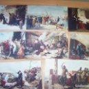 Postales: POSTALES (8) COLECCIÓN PINTURAS DE LA HISTORIA. INSTITUTO DE FARMACOBIOLOGÍA IFABI. Lote 167767232