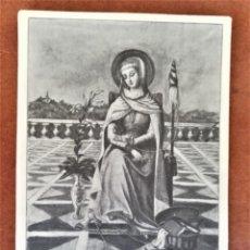 Postales: LOLA ANGLADA,HOMENAJE A LA ARTISTA ED LIMITADA CERCLE CARTÒFIL CATALUNYA POSTAL ORIGINAL,AÑO 1983 . Lote 167969780