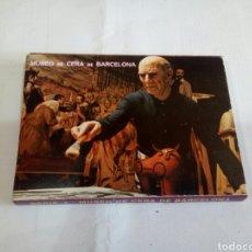 Postales: ÁLBUM DE POSTALES DE MUSEO DE CERA DE BARCELONA. Lote 167977736
