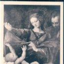 Postales: POSTAL MUSEE CONDE - CHANTILLY - LA VIERGE DE LORETTE - REPETITION D'APRES RAPHAEL - LL. Lote 168060784