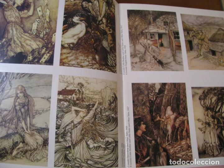 Postales: ART OF ARTHUR RACKHAM. 24 CARDS. TARJETAS ILUSTRADAS PARA RECORTAR. 2004. - Foto 2 - 168296984