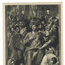 Postales: CATEDRAL DE TOLEDO / SACRISTÍA - EL EXPOLIO - LIENZO DEL GRECO, 1587. Lote 168547604