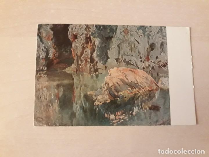 POSTAL ARTE JOAQUÍN MIR EL ROCH DE L ESTANY (Postales - Postales Temáticas - Arte)