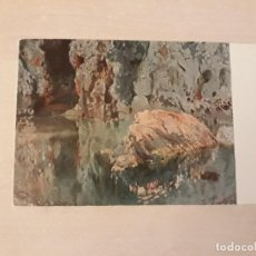 Postales: POSTAL ARTE JOAQUÍN MIR EL ROCH DE L ESTANY . Lote 168719788
