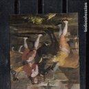 Postales: GOYA. LA NOVILLADA. CARTÓN PARA TAPIZ. Lote 168854876