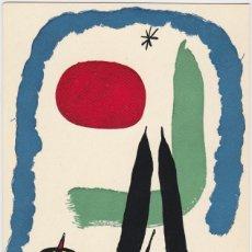Cartes Postales: POSTAL OBRA DE JOAN MIRÓ (1893-1983) LE LEZARD AMOUREUXA(1947) - EDICIONS SALVE II.8 - S/C. Lote 169135728