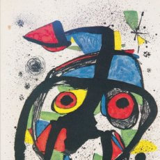 Cartes Postales: POSTAL OBRA DE JOAN MIRÓ (1893-1983) CAROTA(1978) - ARTI GRAFICHE Nº 767 - S/C. Lote 169135936
