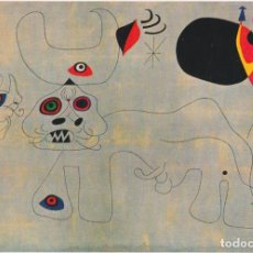 Cartes Postales: POSTAL OBRA DE JOAN MIRÓ (1893-1983) COURSE DE TAUREAUX(1945) - LES EDITIONS BRAUN Nº 280 - S/C. Lote 169136052