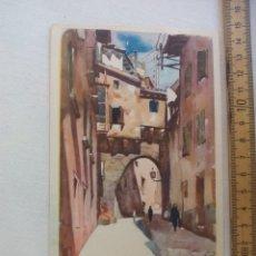 Postales: LLOVERAS, ARCO ALMUDAINA, PALMA DE MALLORCA ARCHIVO DE ARTE BARCELONA AA SERIE A 22 POSTAL. POSTCARD. Lote 169352044