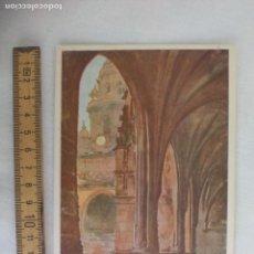 Postales: SANTIAGO DE COMPOSTELA CLAUSTRO F. LLOVERAS. SERIE A 61 ARCHIVO DEL ARTE AA S/C POSTAL. POSTCARD. Lote 169365096