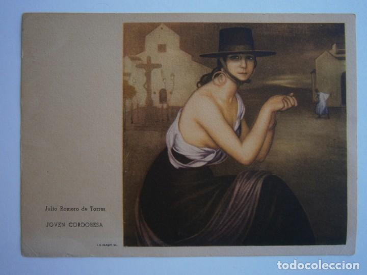 Postales: LOTE POSTALES JULIO ROMERO DE TORRES VILADOT 24 UNIDADES - Foto 21 - 170431140