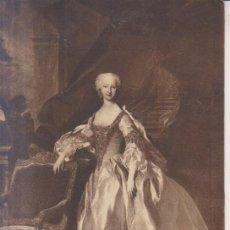 Postales: LOUIS DE SILVESTRE PINTURA DE MARIA JOSE DE AUSTRIA POSTAL NO CIRCULADA. Lote 170926720