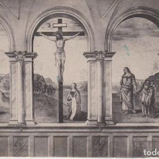 Postales: PERUGINO PINTURA MARIA MAGDALENA 1920 POSTAL CIRCULADA. Lote 171013785