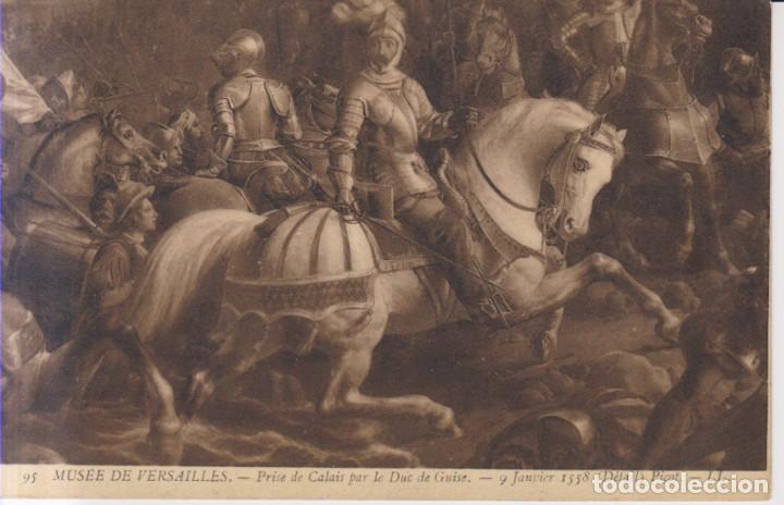 PICOT PINTURA TOMA DE CALAIS POR EL DUQUE DE GUISE POSTAL NO CIRCULADA (Postales - Postales Temáticas - Arte)