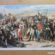 Postales: POSTAL - 212 - CAPITULACION DE BAILEN (CASADO ALISAL) - MUSEO ARTE MODERNO - ED. BARSAL. Lote 171240407