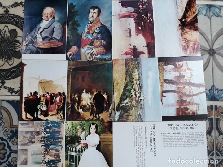 LOTE PINTURA NEOCLASICA (Postales - Postales Temáticas - Arte)