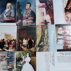 Postales: LOTE PINTURA NEOCLASICA. Lote 171338825