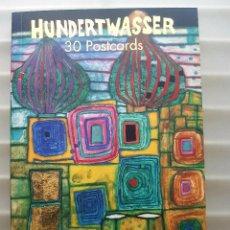 Postales: HUNDERTWASSER LIBRO TASCHEN 30 POSTALES. Lote 171515822