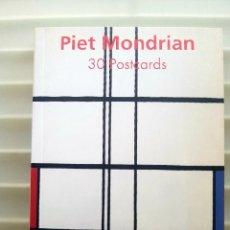 Postales: PIET MONDRIAN LIBRO TASCHEN 30 POSTALES. Lote 171516430