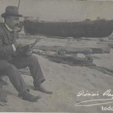 Postales: POSTAL FOTOGRÁFICA DIONISIO BAIXERAS. FOT. F. SERRA, BARCELONA. 14 X 9 CM. . Lote 172573034