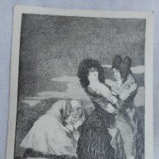 Postales: (POSTAL) TAL PARA CUAL - SERIE LOS CAPRICHOS DE GOYA - 1961. Lote 172726703