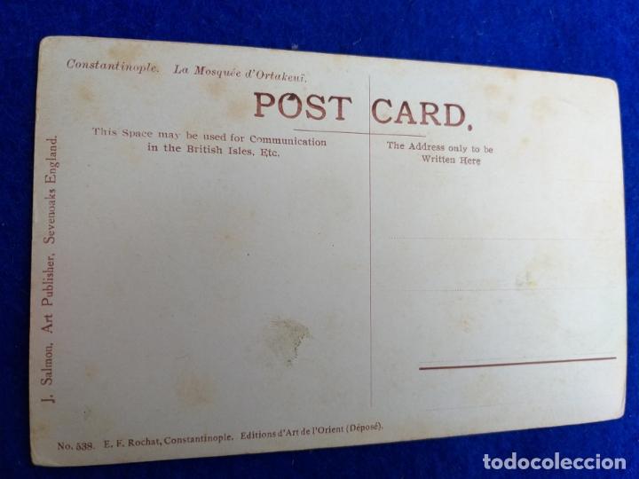 Postales: ANTIGUA POSTAL DE CONSTANTINOPLE. LA MOSQUEE. EDITIONS DE A´RT DE L´ORIENT. E. F. ROCHAT. Nº 538. - Foto 2 - 173419172