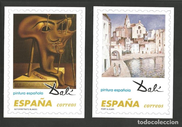 Postales: DALI-LOTE DE 8 POSTALES DE CUADROS DE SALVADOR DALI-PUBLICIDAD CORREOS-VER REVERSO-(61.377) - Foto 3 - 173658918