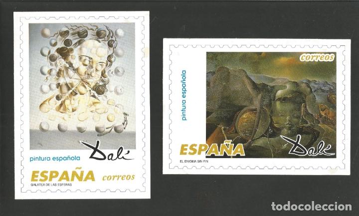 Postales: DALI-LOTE DE 8 POSTALES DE CUADROS DE SALVADOR DALI-PUBLICIDAD CORREOS-VER REVERSO-(61.377) - Foto 4 - 173658918