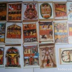 Postales: PACK 17 POSTALES SAN BEATO DE LIÉBANA (S. VIII) / TORIBIO DE LIÉBANA (SANTANDER). NO USADAS.. Lote 174213339
