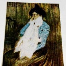Postales: POSTAL - PICASSO, LOLA LA HERMANA DEL ARTISTA. Lote 174413174