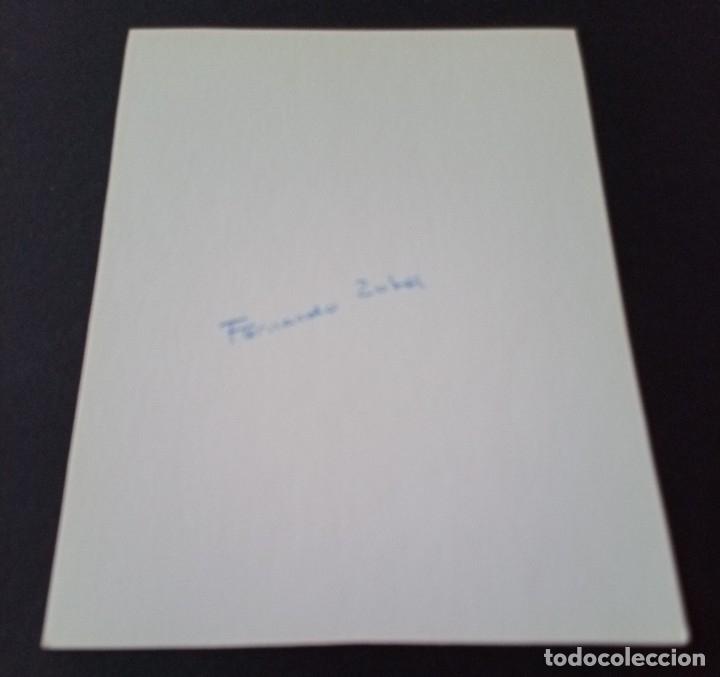 Postales: CTC - FERNANDO ZOBEL - POSTAL DE ARTE ABSTRACTO ESPAÑOL - NUEVA - Foto 2 - 174506870