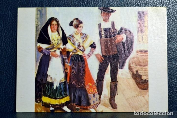 JOAQUIN SOROLLA BASTIDA - TIPOS DE LA ALBERCA - Nº 21 (Postales - Postales Temáticas - Arte)
