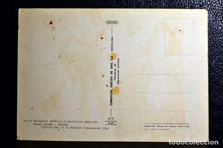 Postales: JOAQUIN SOROLLA BASTIDA - TIPOS DE LA ALBERCA - Nº 21 - Foto 2 - 174512889