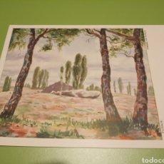 Postales: PINTADO CON LA BOCA. Lote 174991703