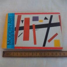 Postales: LIBRO DE 30 POSTALES DE ARTE MODERNO. MAGNA BOOKS. 1990. MODERN ART BOOK OF 30 POSTCARDS.. Lote 174994820
