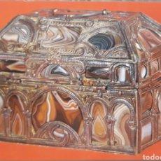Postales: POSTAL N°137 CAJA MOZÁRABE MUSEO ARQUEOLÓGICO NACIONAL MADRID. Lote 175377247