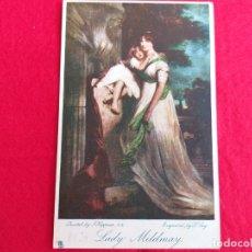 Postales: ANTIGUA POSTAL INGLESA. TUCKS POST CARD. PINTURA MADRE CON HIJA. LADY MILDMAY. Lote 175395619