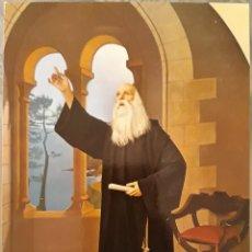Postales: POSTAL N°8 OLEO RAMÓN LLULL MUSEO HISTORIAL DE MALLORCA. Lote 175622077